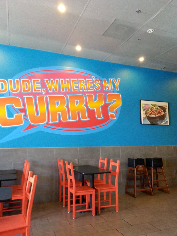Dude, Where's My Curry