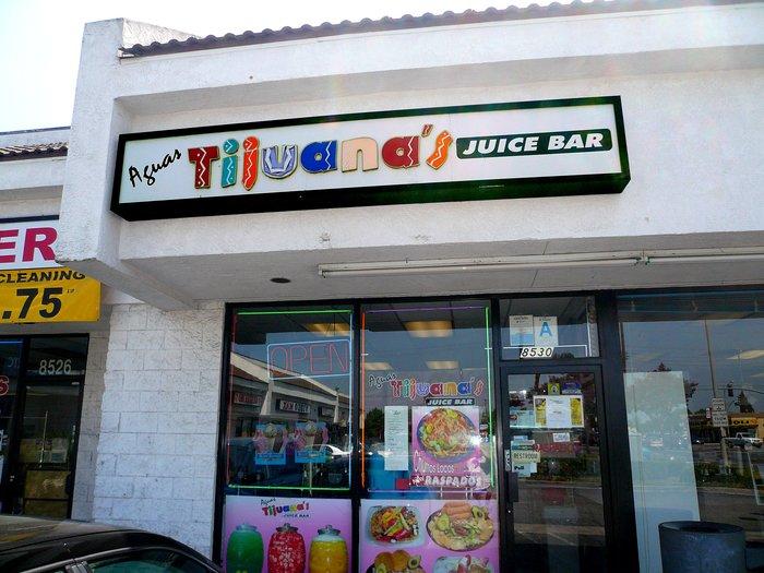 Aguas Tijuana's Juice Bar